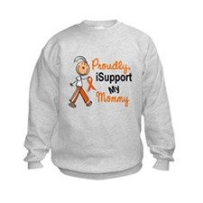 iSupport My Mommy SFT Orange Sweatshirt