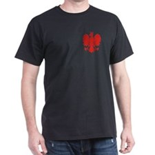 Polish Eagle Black T-Shirt