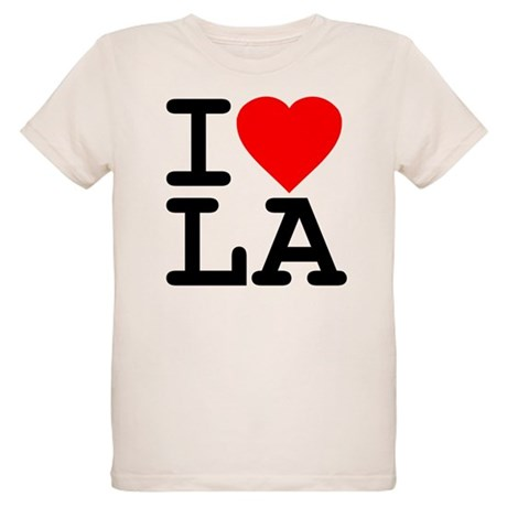 I Love LA Organic Kids T-Shirt