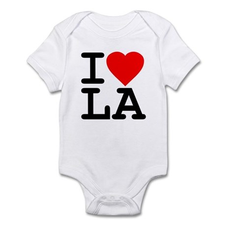I Love LA Infant Bodysuit