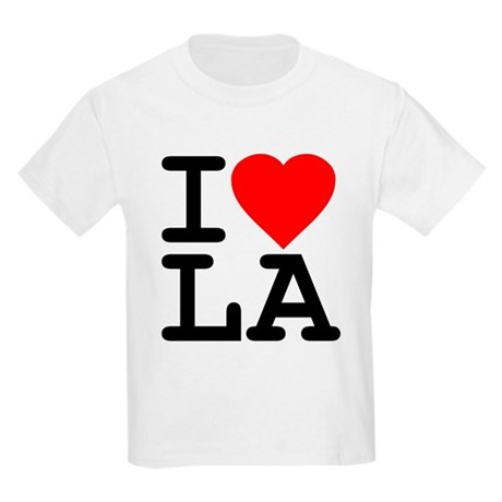 I Love LA Kids Light T-Shirt