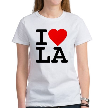I Love LA Womens T-Shirt