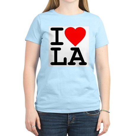 I Love LA Womens Light T-Shirt