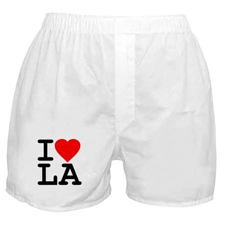 I Love LA Boxer Shorts