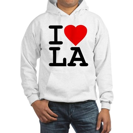 I Love LA Hooded Sweatshirt