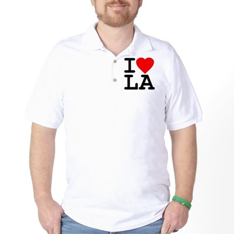 I Love LA Golf Shirt