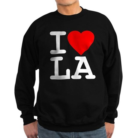 I Love LA Dark Sweatshirt