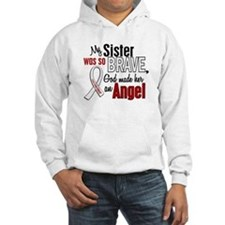 Angel 1 SISTER Lung Cancer Hoodie Sweatshirt