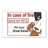 NMtl Fire Save Rectangle Decal