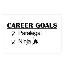 Paralegal Ninja Career Goals Postcards (Package of