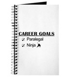 Paralegal Ninja Career Goals Journal