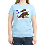 See? Turtles! Women's Pink T-Shirt