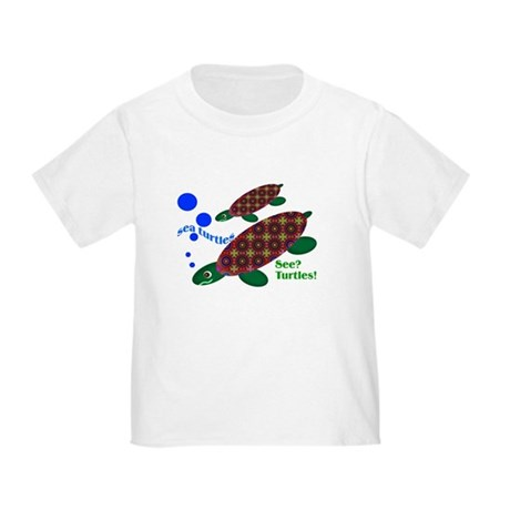 See? Turtles! Toddler T-Shirt