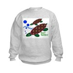 See? Turtles! Kids Sweatshirt