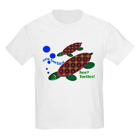 See? Turtles! Kids T-Shirt