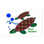 See? Turtles! Postcards (Package of 8)
