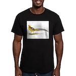 Yellow Golden Pheasant Men's Fitted T-Shirt (dark)
