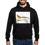 Yellow Golden Pheasant Hoodie (dark)