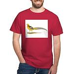 Yellow Golden Pheasant Dark T-Shirt