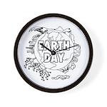 Earth Day 2011 Wall Clock