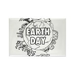 Earth Day 2011 Rectangle Magnet (100 pack)