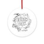 Earth Day 2011 Ornament (Round)