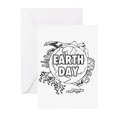 Earth Day 2011 Greeting Cards (Pk of 10)
