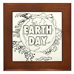 Earth Day 2011 Framed Tile