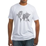 World Wide Web Fitted T-Shirt