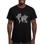 World Wide Web Men's Fitted T-Shirt (dark)
