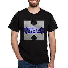 MetroSexual Black T-Shirt