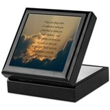 Heavenly Irish Blessing Keepsake Box
