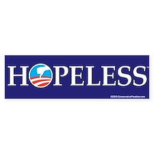 HOPELESS anti Obama bumper sticker