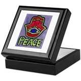 Hamsa Peace #1 Keepsake Box