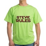 stevie rules Green T-Shirt