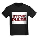 stevie rules Kids Dark T-Shirt