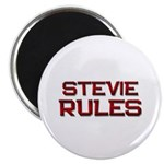 stevie rules Magnet