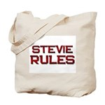 stevie rules Tote Bag