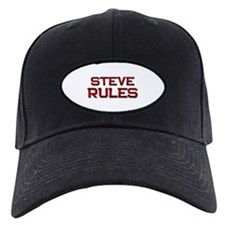 steve rules Baseball Hat