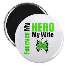 "Lymphoma Hero Wife 2.25"" Magnet (100 pack)"