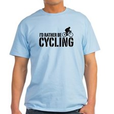 I'd Rather Be Cycling (Male) T-Shirt