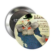 "Toulouse-Lautrec 2.25"" Button"
