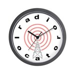 Radio-Locator Wall Clock