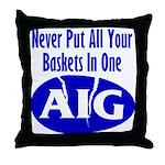 AIG Throw Pillow