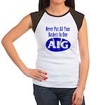 AIG Women's Cap Sleeve T-Shirt