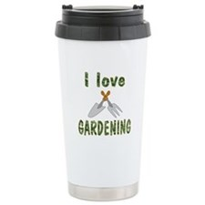 Gardening Ceramic Travel Mug