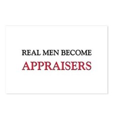 Real Men Become Appraisers Postcards (Package of 8