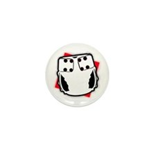 Funny Cloth diapering advocacy Mini Button (100 pack)
