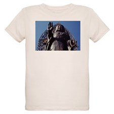 Giant Outdoor Budha Greeting T-Shirt