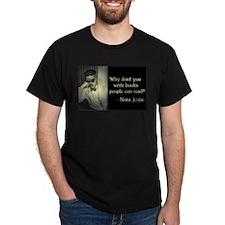 Joyce Quote Black T-Shirt